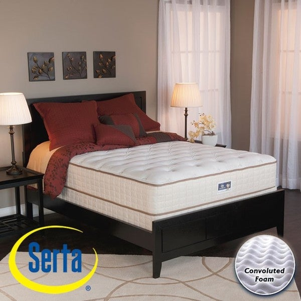 Serta Alleene Plush Full-size Mattress and Box Spring Set