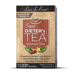 Natrol Laci Super Dieter's Cinnamon Spice Tea (Pack of 6)