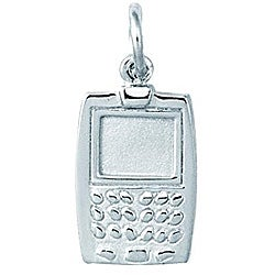 Sterling Silver Cell Phone Charm
