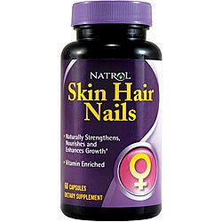 Natrol Women's 'Skin Hair Nails' 60-tablet Bottles (Pack of 3)