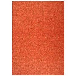 Safavieh Indoor/ Outdoor St. Barts Red Rug (7'10' x 11')