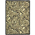 Safavieh Indoor/ Outdoor Acklins Sand/ Black Rug (4' x 5'7)