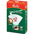 Melitta 622712 #2 Paper White Cone Coffee Filters- 400 Count