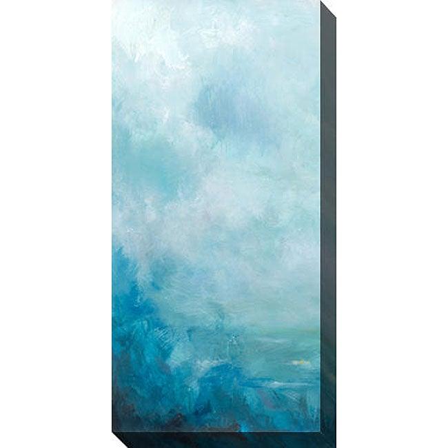 Sean Jacobs 'Ocean Front I' Oversized Canvas Art