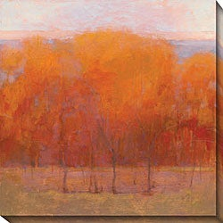 Kim Coulter 'Change of Seasons III' Oversized Canvas Art