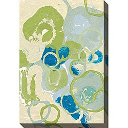 Leslie Saris 'Emerging Impression II' Oversized Canvas Art
