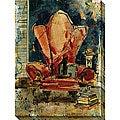 Olivia Maxweller 'Chunkie's Chair' Oversized Canvas Art