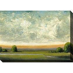 St. John 'Good Earth I' Oversized Canvas Art