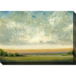 St. John 'Good Earth II' Oversized Canvas Art