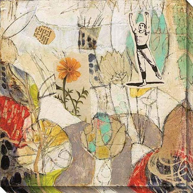 Judy Paul 'Garden' Oversized Canvas Art