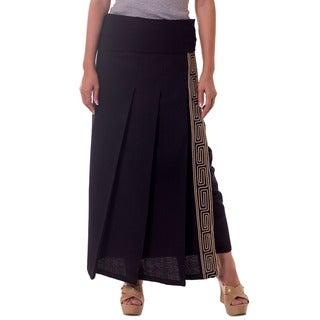 Cotton 'Thai Deluxe' Wraparound Skirt (Thailand)