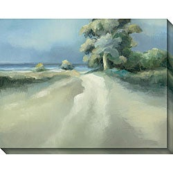 Caroline Ashton 'Lakeside Tree II' Gallery-wrapped Art