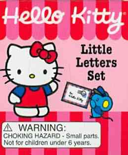 Hello Kitty: Little Letters Set (Hardcover)