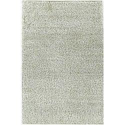Shaggy White Area Rug (4' x 6')