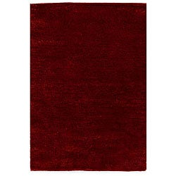 Shaggy Red Rug (6' x 9')