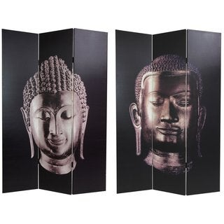 Canvas Double-sided Buddha Room Divider (China)