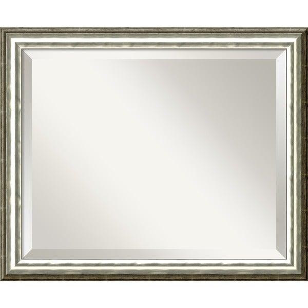 SoHo Silver Wall Mirror - Medium' 23 x 19-inch