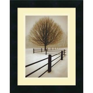 David Lorenz Winston 'Solitude' Framed Art Print