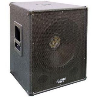 Pyle PylePro PASW15 400 W RMS - 800 W PMPO Woofer - 1 Pack - Black