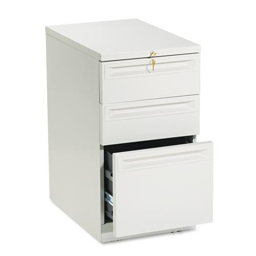 Hon flagship 22 inch deep 3 drawer pedestal file cabinet for 22 deep kitchen cabinets