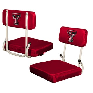 Texas Tech University 'Red Raiders' Hard Back Folding Stadium Seat