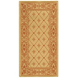 Safavieh Indoor/ Outdoor Summer Natural/ Terracotta Rug (2'7 x 5')