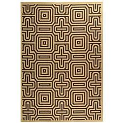 Safavieh Indoor/ Outdoor Matrix Natural/ Brown Rug (6'7 x 9'6)