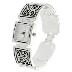 Geneva Women's Concho-style Watch