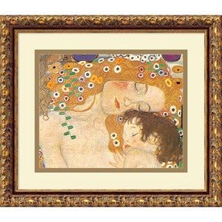 Klimt 'Three Ages of Woman (Detail IV), 1905' Framed Art Print