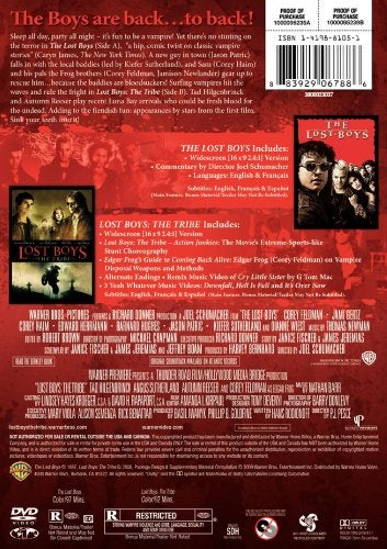 Lost Boys 1 & 2 Film Collection (DVD)
