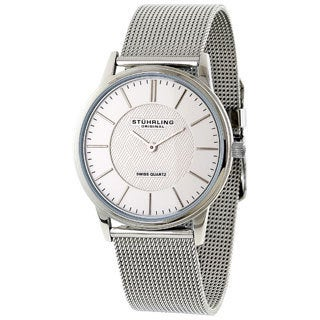 Stuhrling Original Unisex Newberry Ultra Slim Swiss Quartz Watch