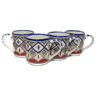 Tabarka Design Coffee Mugs (Tunisia)