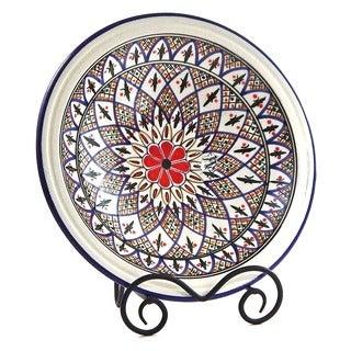Tabarka Design Small Serving Bowl (Tunisia)