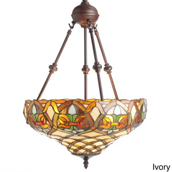 Tiffany-style Ariel Hanging Light