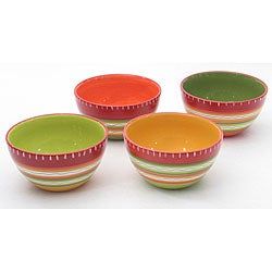 Certified International Hot Tamale Ice Cream Bowls (Set of 4)