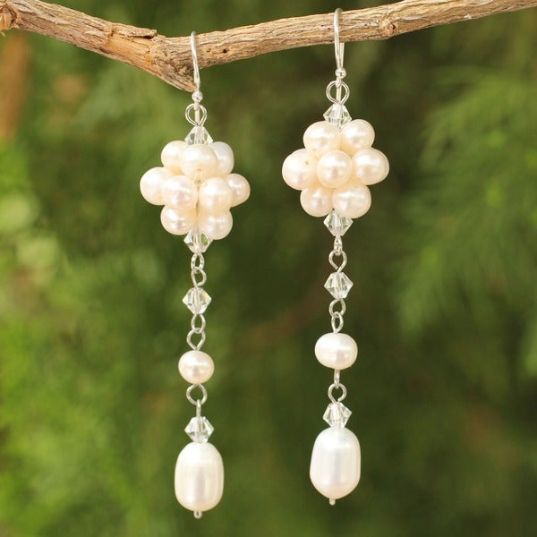 Pearl 'Offer of Grace' Drop Earrings (Thailand)