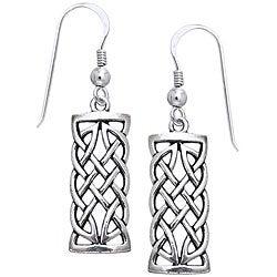 CGC Sterling Silver Celtic Creativity Woven Earrings
