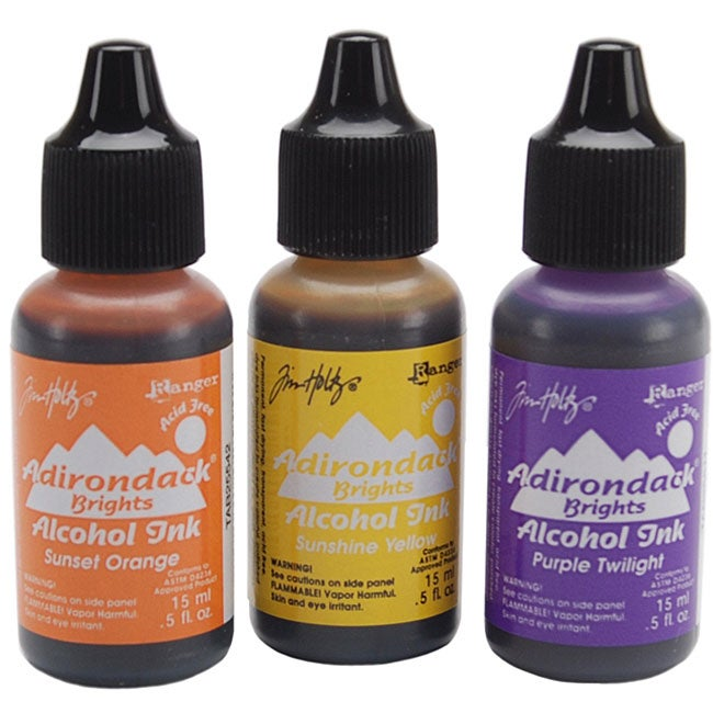 Adirondack Brights Acid-Free Alcohol Inks (Set of 3)