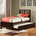 ETHAN HOME Ferris Cherry Full-size Platform Bed with Trundle