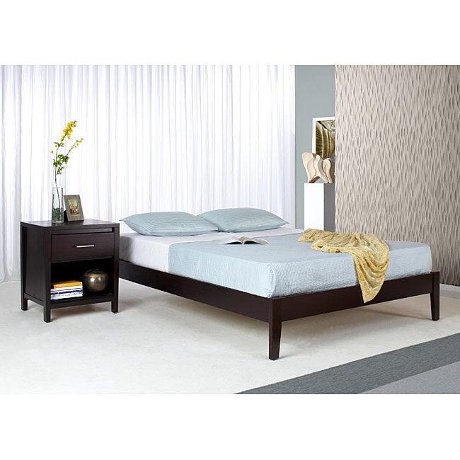 Tapered Leg Queen-size Platform Bed