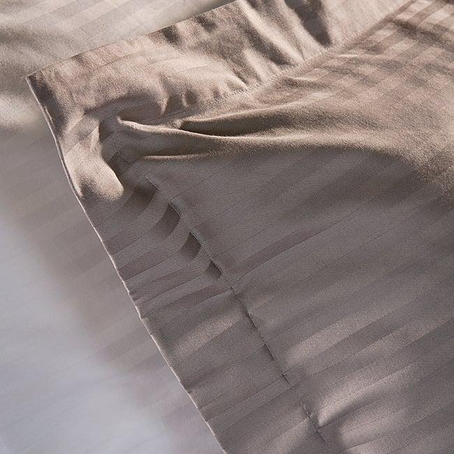 Egyptian Cotton 400 Thread Count Striped 3-piece Duvet Cover Set