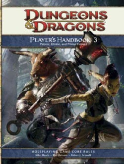 Dungeons & Dragons Player's Handbook 3: Psionic, Divine, and Primal Heroes: Roleplaying Game Core Rules (Hardcover)