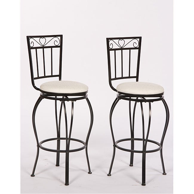 Simple Living Gabriella 30-inch Pub Stools (Set of 2)