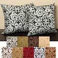 Seville 18-inch Knife Edge Pillows (Set of 2)