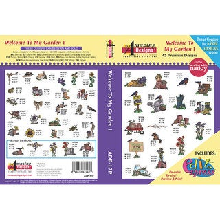 'Welcome To My Garden I' Multi-format CD-Rom Software