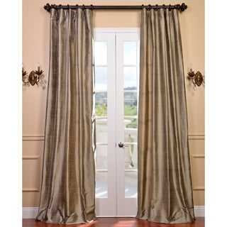 Signature Cashmere Textured Silk Curtain Panel