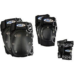 MBS Black Extra Small Core Tri-pack Pads