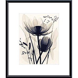 Judith McMillan 'Lotus and Grasses' Metal Framed Art Print