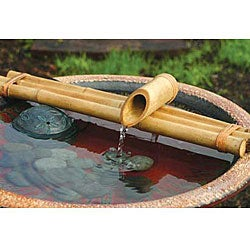 Three-arm 18-inch Bamboo Water Spout and Pump Kit (Vietnam)