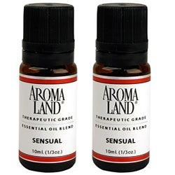 Aromaland Sensual 10 ml Essential Oils (Pack of 2)